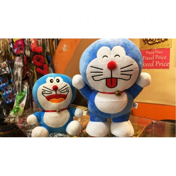 Set of 2 doremon cartoon toy - 10 to 12 inch and 22 to 24 inch