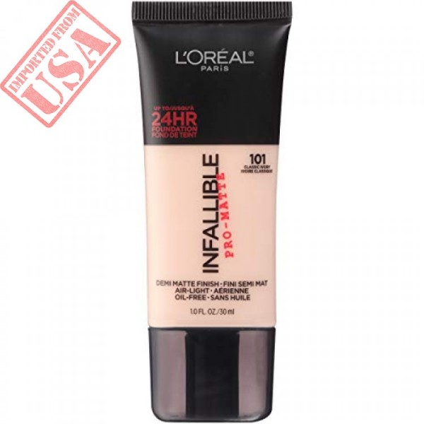 Original LOreal Paris Infallible Pro-Matte Foundation - Shade 101 Full size