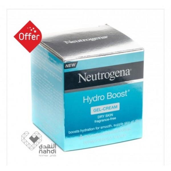 Original Nuetrogena hydro boost gel cream for dry skin 50 ml