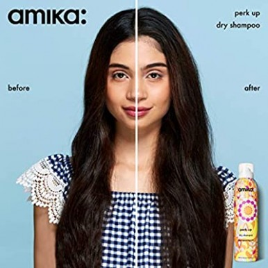 Amika Perk Up Dry Shampoo Spray Travel Trial Size 0.75 oz 33 mL 21 g
