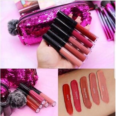 Branded BH Cosmetics Royal Affair Lip set (Set of Five Liquid Lipsticks ) - Original