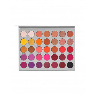 Branded Original Deal - Set of Four Products - Huda Beauty Naughty Palette, NYMPH Highlighter , Jacklyn Volume 2 Eyeshadow Palette, Huda Beauty Lipstick (of your choice )