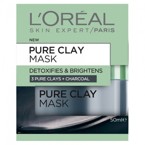 L'Oréal Paris Pure-Clay Detox & Brighten Face Mask