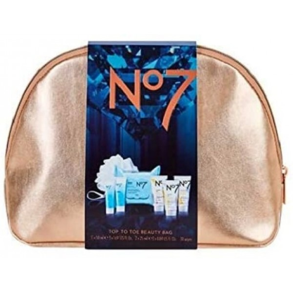 Boots NO7 Top to Toe Beauty Bag (8 Items) Original from UK