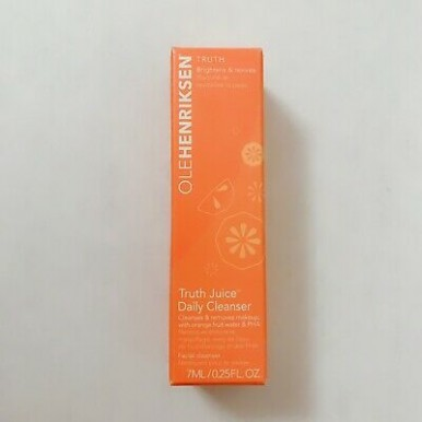 Olehenriksen Truth Juice Daily Cleanser 7ml  -Travel Size