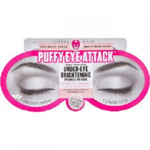 Soap nad Glory Puffy Eye Attack Under-Eye Brightening Patches - 1 Pair
