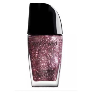 Wet and Wild Nail Polish- Nude and Glitter Pink Nail Color