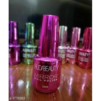 Pack of 6 Huda Beauty Mirror Nail Polish Multicolor