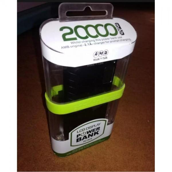 AMB 20000 mAh POWER BANK with LCD Dispaly