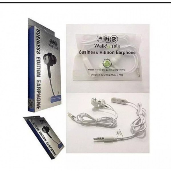 Original AMB Handsfree/Earphone -Business Edition Earphones