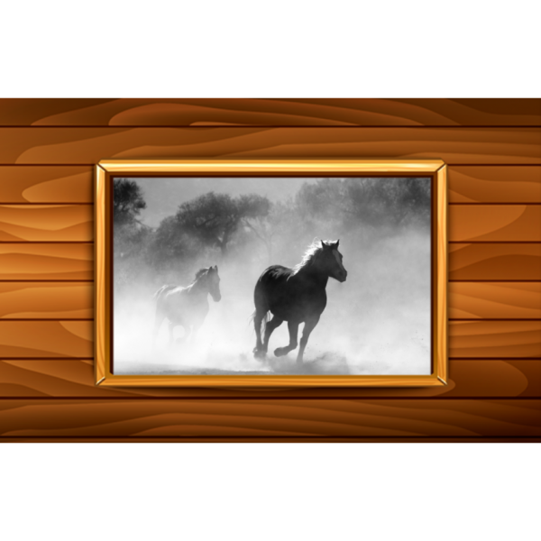 Once Upon A Time Horses Wall Art