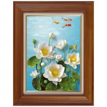 Beauty Flower Wall Frame Wall Art Painting