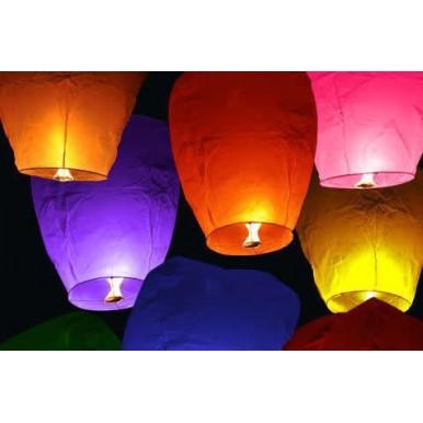 Sky Lantern - Pack of 6 Lantern