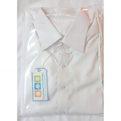 Designer White Shalwar Kameez (Large)