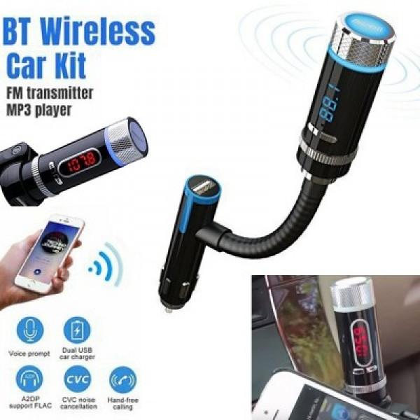 Rubian Rubian Car Wireless Mp3 Bluetooth Fm Transmitter