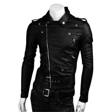 Highstreet Fashion Men Leather Jacket