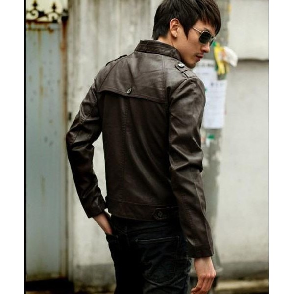 Highstreet Fashion Men Leather Jacket