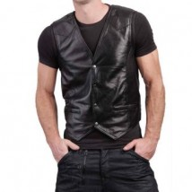 Highstreet Fashion Black Men Faux Waist Coat