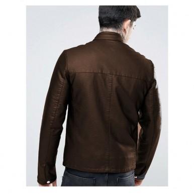 Moncler Highstreet Faux Leather Jacket For Men - CB02
