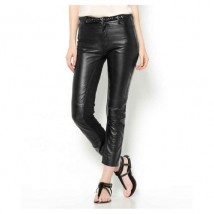 High Quality Leather Pant for women in Black