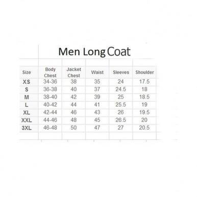Moncler Brown Leather Long Coat For Men