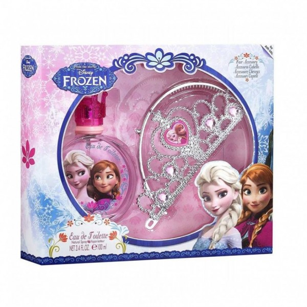 DISNEY FROZEN - FRAGRANCE AND TIARA SET for Princess