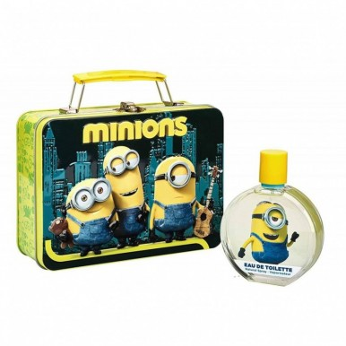 DESPICABLE ME MINION - METALLIC LUNCH BOX and FRAGRANCE