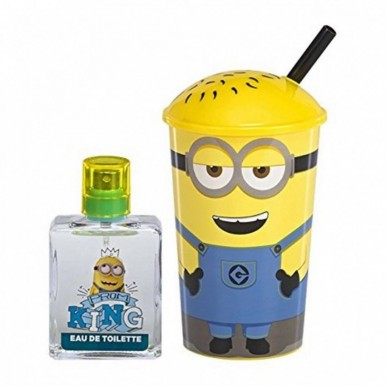 DESPICABLE ME MINION - HAND BAG SIPPY CUP and FRAGRANCE