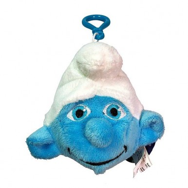 Smurfs Papa Smurf 5 inches Soft Toy Plush Keychain