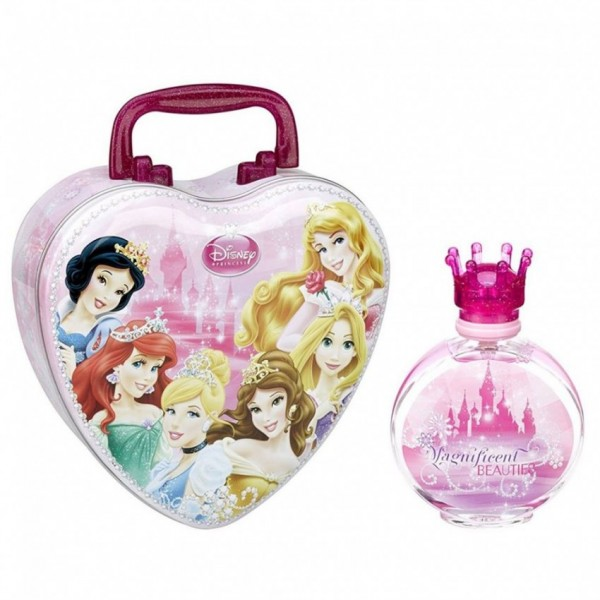 DISNEY PRINCESS - HEART LUNCH BOX and FRAGRANCE
