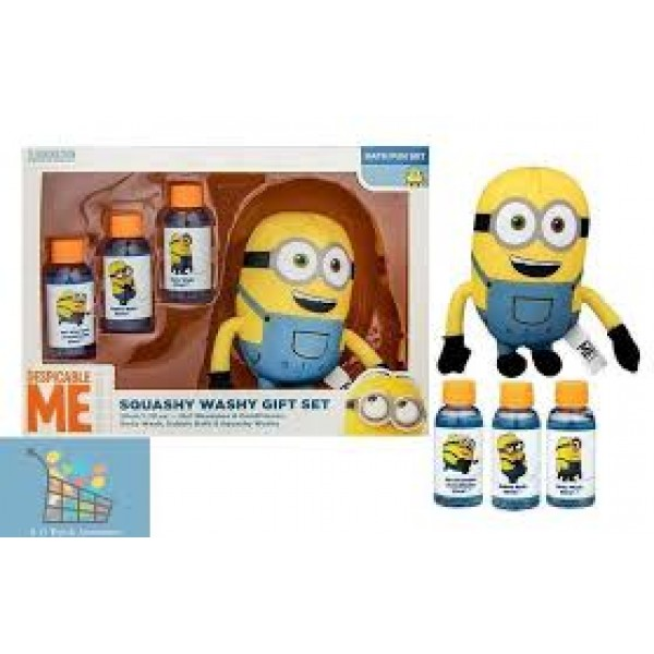 Despicable Me Minion - Squashy Washy Gift Set