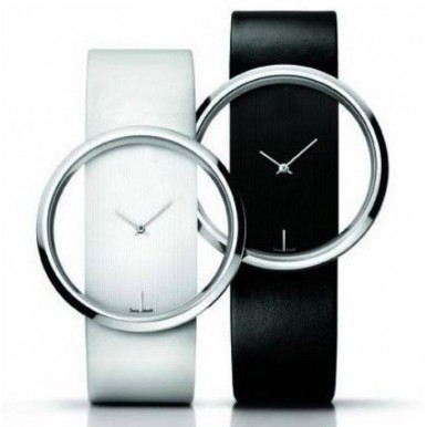 Swiss Made Watch - available in black and white colors