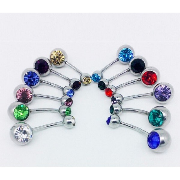 Belly Button Pin Ring – 1 Piece