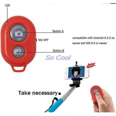 Monopod Bluetooth Selfie Stick