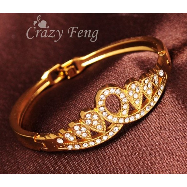 Gold Filled Crown Bracelets