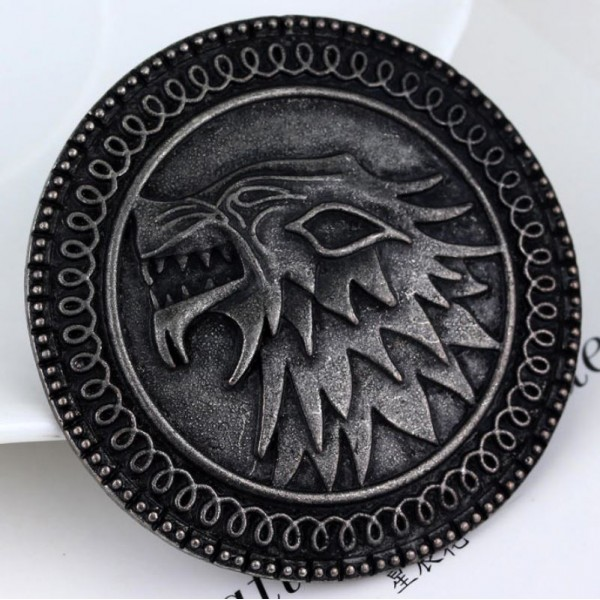 Game Of Throne Dragon Badge Pendant Brooch