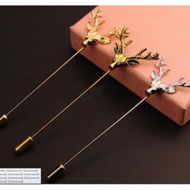 Deer Lapel pin for Men