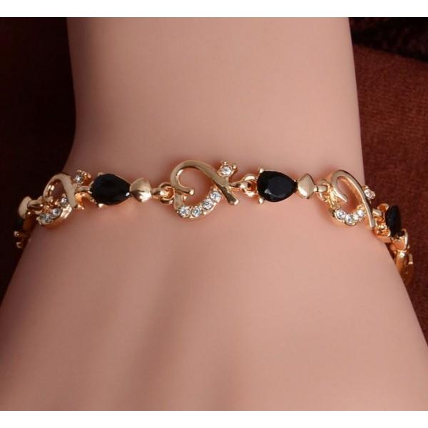 Love Heart Chain Bracelet for girls