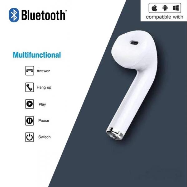 i7 Wireless Earbud Single Side