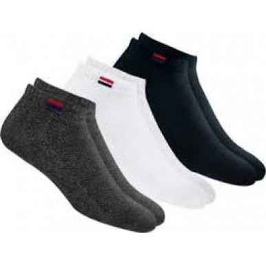 Pack of 3 - Imported Multicolored Cotton Socks