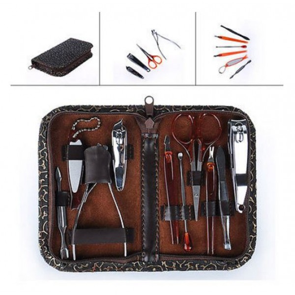 Manicure - Pedicure Kit 10 in 1