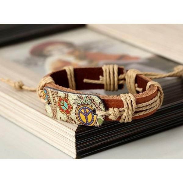 Cowhide Genuine Leather Unisex Bracelet
