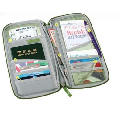 Travel Wallet Passport Credit ID Card Holder