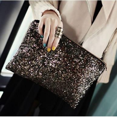 Dazzling Glitter Sparkling Handbags for Her
