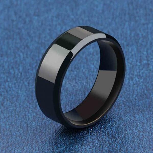 Titanium Party Ring