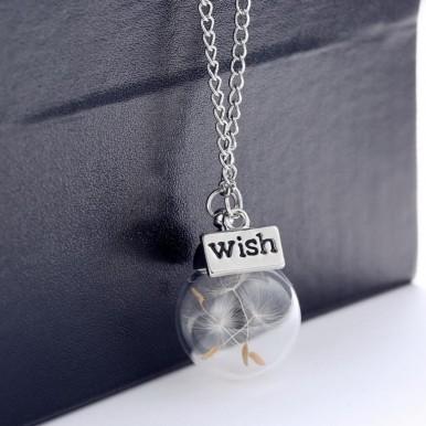 Minimalistic Wish Bottle Necklace