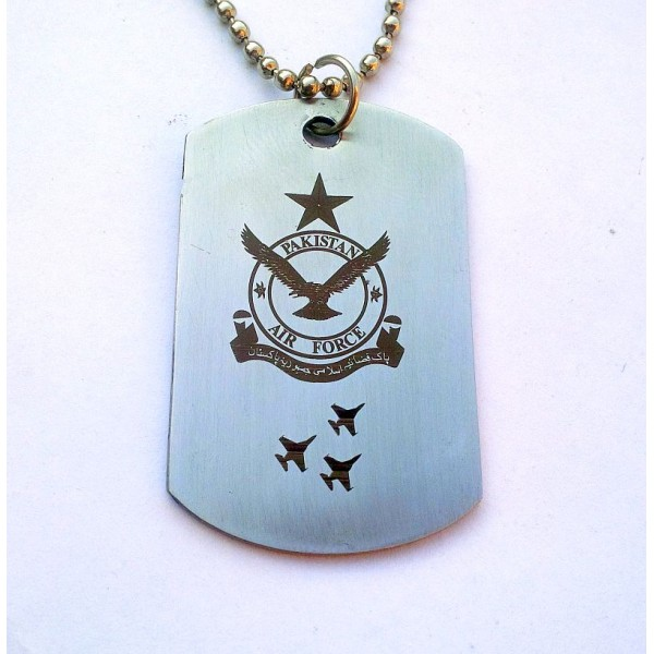 PAF Tag Necklace stainless Steel
