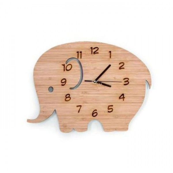 Cute Elephant Shaped Clock for kids
