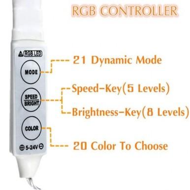 LED Colorful Strip Lights - 6ft