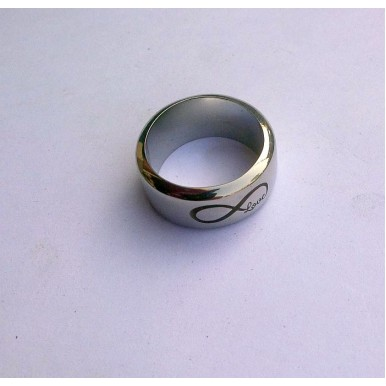 Stainless Steel Infinity Love Ring